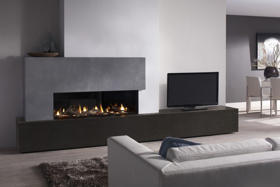 Ideas decoraci n chimeneas chimeneas impormade - Estufas decorativas electricas ...