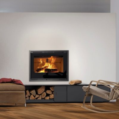 Insertable leña Carbel I-80 - chimeneas impormade